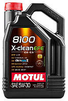 Моторное масло  Motul 8100 X-CLEAN EFE SAE 5W30, 4L
