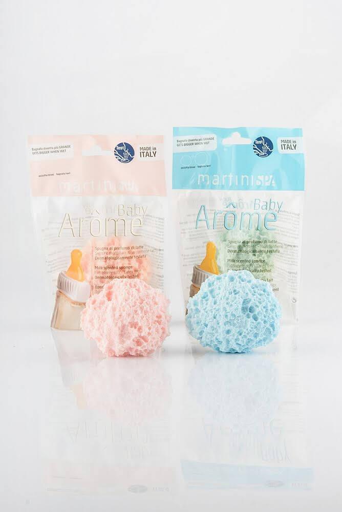 MARTINI SPA Milk Scented Baby Sponge Мочалка-губка для дітей (з молочним ароматом)
