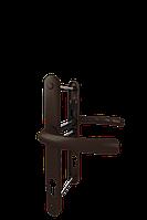 Дверной гарнитур универсальный Astex ANTEY DHS 92/26/16 Коричневый (RAL 8019)