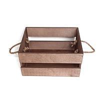 """Ящик деревянный """"Rustic"""". Подарочный ящик. Деревянная коробка для подарка"""
