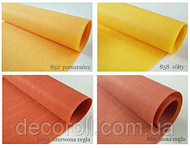 """Тканинні ролети від виробника """"Decoroll"""" - Льон, дійсно польська тканина, фото 3"""