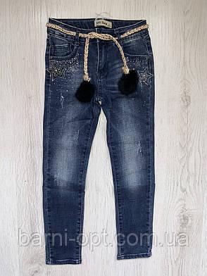 Джинсовые брюки  для девочек оптом, Setty Koop, 8-16 рр., фото 2