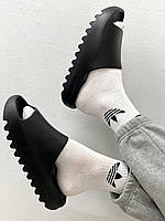 Шлепанцы женские Yeezy Slide Black, фото 1