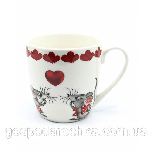 Кружка Milika Mouse in Love 450 мл в подарунковій упаковці 0520-S30-4