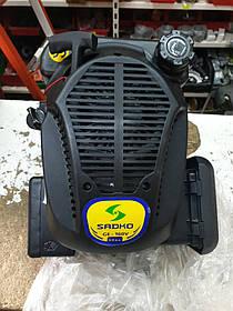 Двигатель160v бензин 5л Китай вал 22 мм шпонка вертикальный
