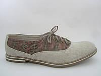 Туфли мужские из конопли «Комфи-классика»