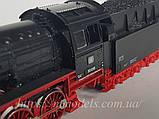 Fleischmann 4174 Масштабна модель паровоза серії BR50-008, приналежності DB,б/у масштабу Н0 1:87, фото 4