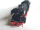 Fleischmann 4174 Масштабна модель паровоза серії BR50-008, приналежності DB,б/у масштабу Н0 1:87, фото 7