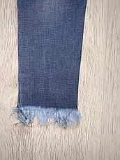 Джинсові штани на дівчинку оптом, S&D, 8-18 рр., фото 2