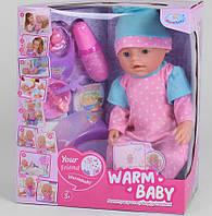 Пупс 40 см, 8 функцій Дитячий пупсик, лялька, іграшка, подарунок для дівчинки