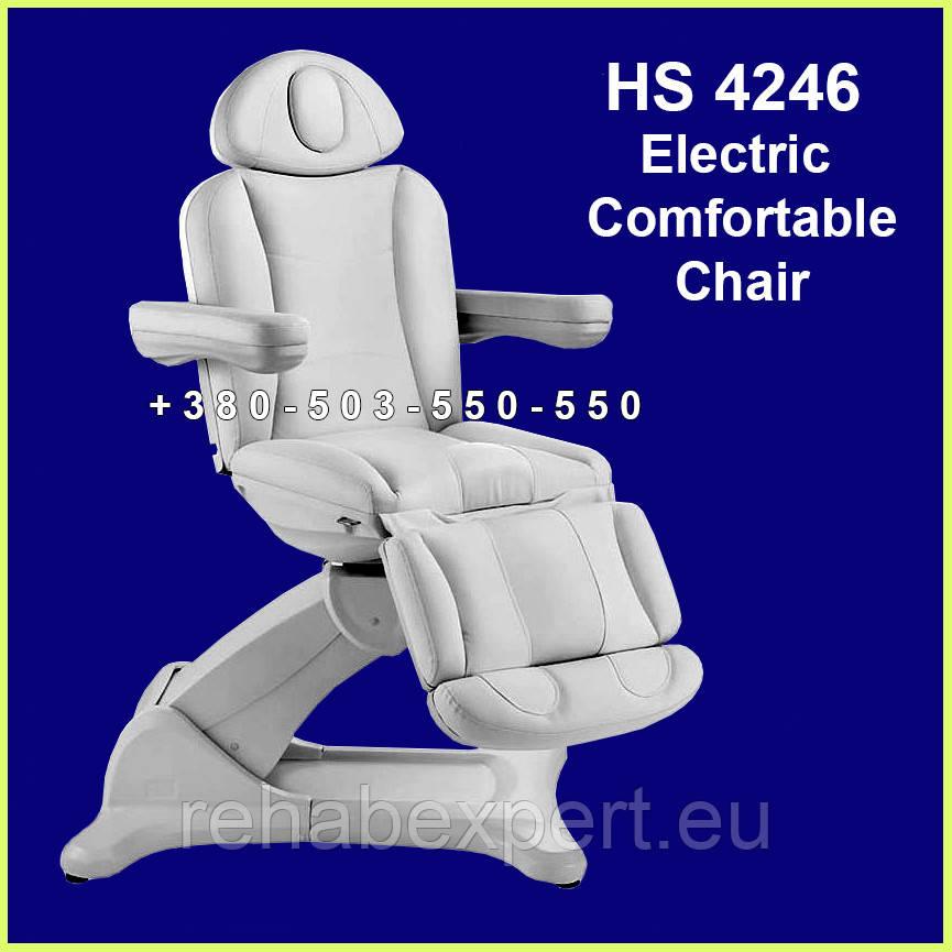 Элегантное универсальное кресло для диагностики и осмотра с полной регулировкой электропривода