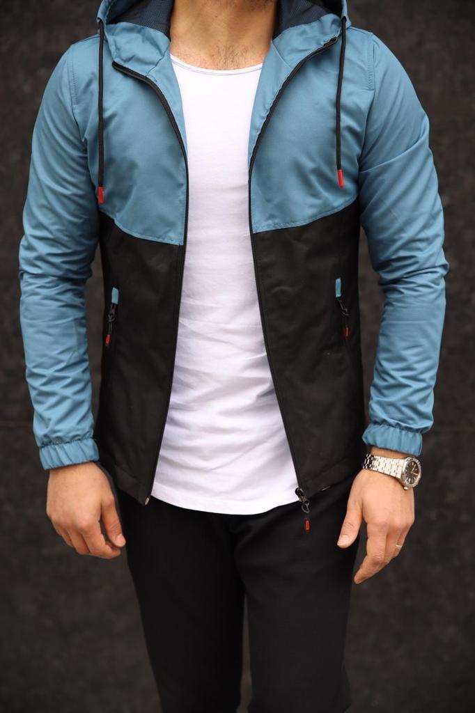 Мужская куртка синяя