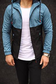 Чоловіча куртка синя