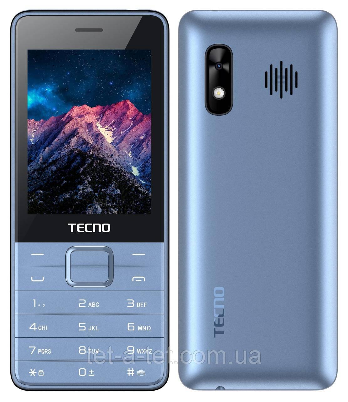 Мобильный телефон Tecno T454 DS Blue (UA UCRF)