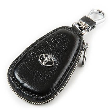 Ключница для автомобильных ключей кожаная черная Dr.Bond F633, фото 2