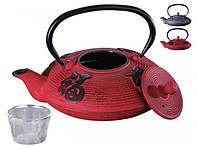 Заварочный чайник Peterhof PH-15622 0,8 л. red