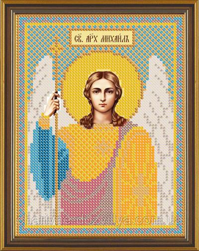 Схема для вышивки бисером икона Святой Архангел Михаил