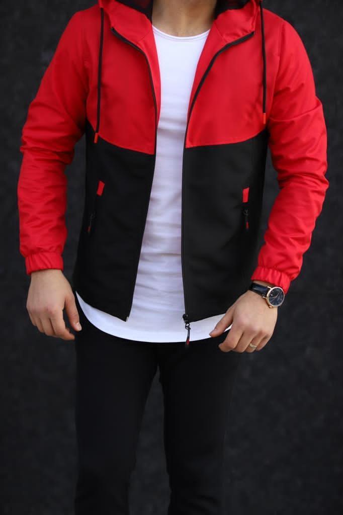 Мужская куртка красная