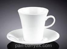 Чашка кофейная с блюдцем Wilmax  160мл фарфор (993005 WL)