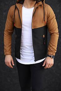 Чоловіча куртка коричнева