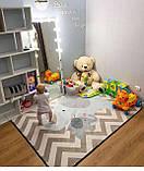 """Безкоштовна доставка! Килим в дитячу """"Мама слоник і малюк"""" утеплений килимок мат (1.5*2 м), фото 2"""