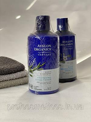 Avalon Organics, кондиціонер для густоти волосся, з біотином і В-комплексом, 397 г