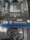Материнская плата MSI H61M-P31/W8 (s1155, Intel H61, PCI-Ex16), фото 5