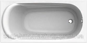 SAGA ванна 160*75см прямоугольная, с ножками SN0 и элементами крепления