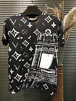 Футболка Louis Vuitton Black