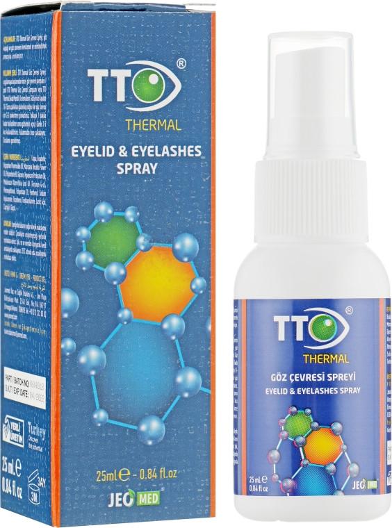 Спрей для век и ресниц TTO Thermal Eyelid & Eyelashes spray УЦЕНКА! УПАКОВКА ПОВРЕЖДЕНА!!!