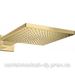 Raindance E Верхний душ 300 1jet с держателем, полированное золото