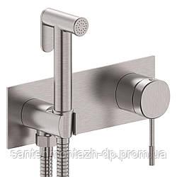 BRENTA набор: смеситель скрытого монтажа с гигиеническим душем, никель