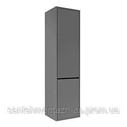 TEO пенал 139*35*35см, подвесной, серый