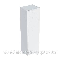 SMYLE Square тумба 36*118*29,9см, средней высоты, с одной дверью, белый глянец