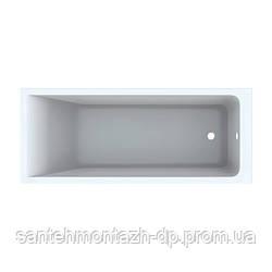 SELNOVA Square ванна 170*70см, прямоугольная, с ножками