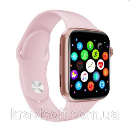 Смарт часы smart watch X7, голосовой вызов, pink