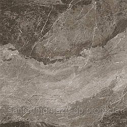 Плита керамогранит 900*900 мм marble dark brown Уп. 1,62м2/2шт