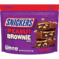 Батончики Snickers Peanut Brownie Fun Size 187.4g