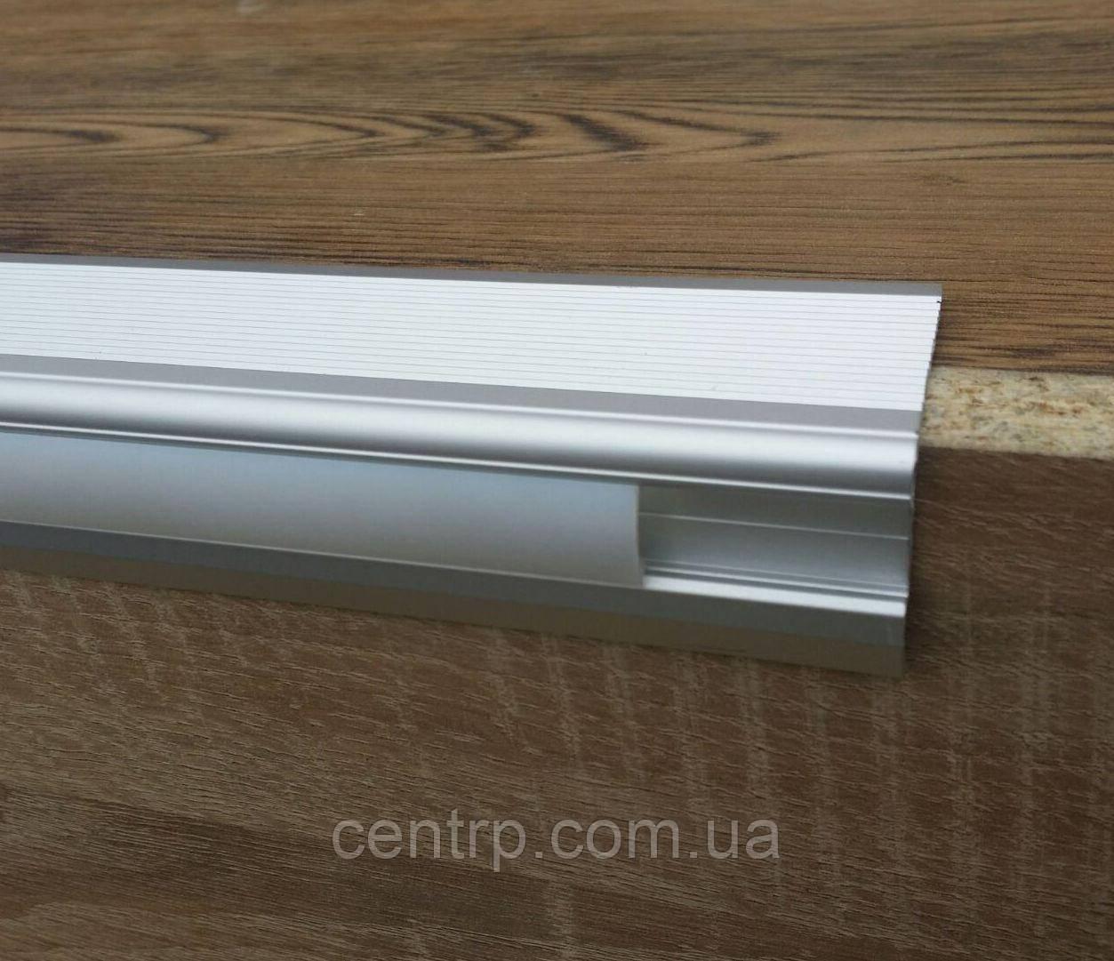 Алюминиевый профиль для ступеней с LED-подсветкой А47*33