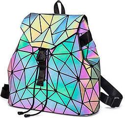 Світловідбивний рюкзак, свиться у темряві, Хамелеон, сумка дитяча, світловібчиваючий рюкзак