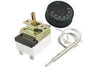 FSTB 90C — Термостат для электрокотла, капиллярный с ручкой, T=90°С, трубка 850мм, однофазн., 250V 16A, Турция