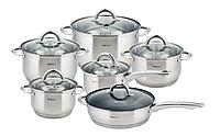 Набор комплект посуды кастрюль KingHoff KH 4450 индукция