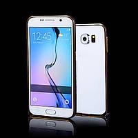 Бампер металлический Creative Case для Samsung G920F Galaxy S6 Черный