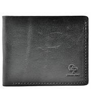 Мужской кошелек кожаный Grande Pelle black all, фото 1