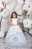 Длинное нарядное детское платье Анита  на 4-5, 6-7, 8-9 лет, фото 10