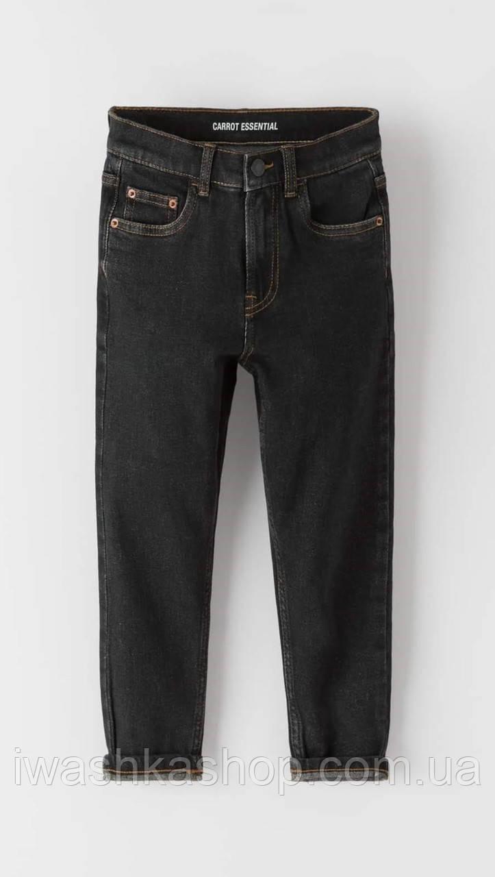 Стильні чорні джинси Керрот Carrot Essential на хлопчиків 13 - 14 років, 164 р. ZARA