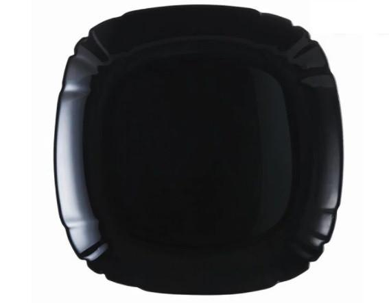 Салатник Luminarc Lotusia Black квадратный d15 см стеклокерамика (7065P)