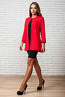 Кардиган пиджак шанель красный