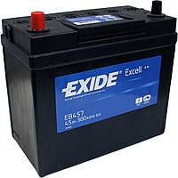 Аккумулятор 45Ah-12v Exide EXCELL EB457(234х127х220),L,EN300(тонк.клемы), фото 1