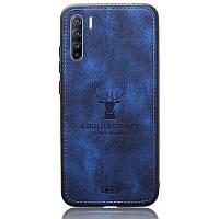 Чехол Deer Case для Oppo Reno 3 / Find X2 Lite Blue
